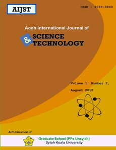 AIJST - Aceh International Journal of Science and Technology