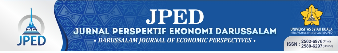Darussalam Journal of Economic Perspective