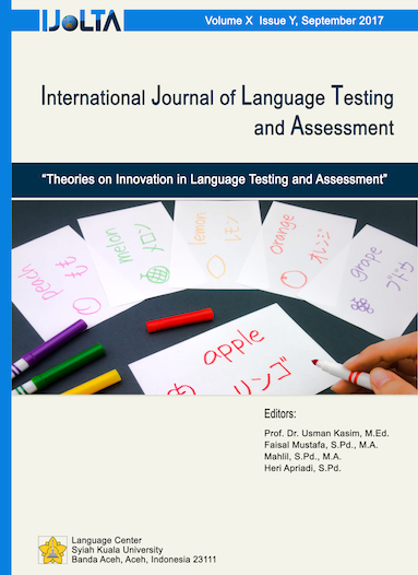 International Journal Of Language Testing And Assessment International scientific journal & country ranking. jurnal unsyiah